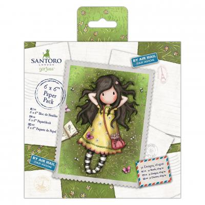 Santoro's Gorjuss Summer Collection - 6x6'' Paper Pack