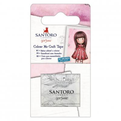 Santoro's Gorjuss Colour Me Craft Tape