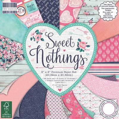 8x8'' Paper Pad Sweet Nothings