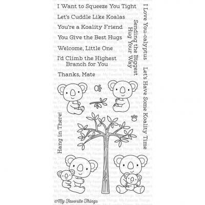 My Favorite Things Clear Stamp Cuddly Koalas