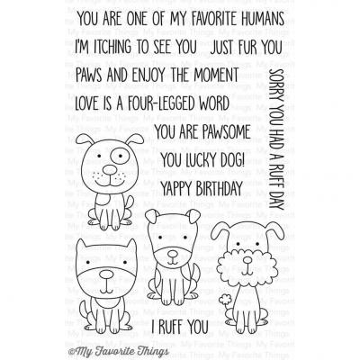 My Favorite Things Clear Stamp Four-Legged Friends