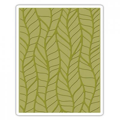 Tim Holtz Embossing Folder Leafy