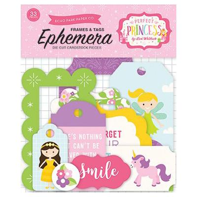 Perfect Princess - Die-Cuts Frames & Tags