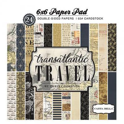 Transatlantic Travel Paper Pad