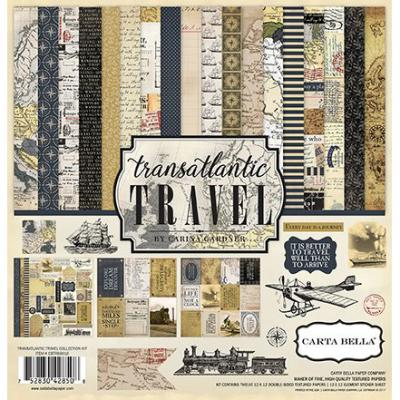 Transatlantic Travel Collection Kit