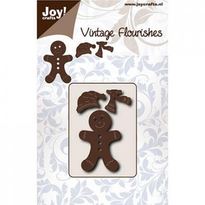 Joy!Crafts Stanzschablone - Lebkuchenmann