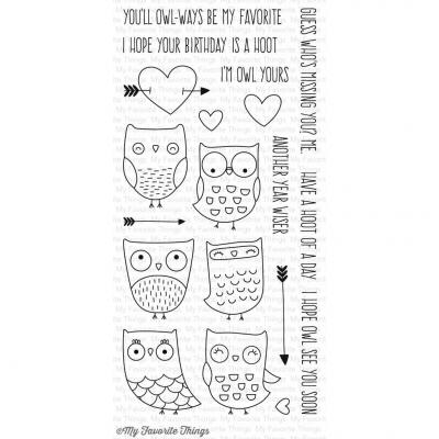 My Favorite Things Clear Stamp I'm Owl Yours