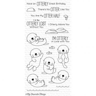 My Favorite Things Clear Stamp Otterly Love You