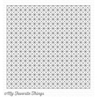 My Favorite Things Clear Stamp Framework Background