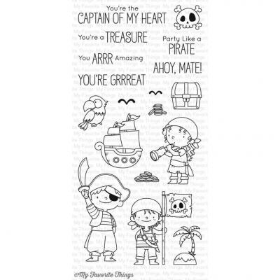 My Favorite Things Clear Stamp Party Like a Pirate