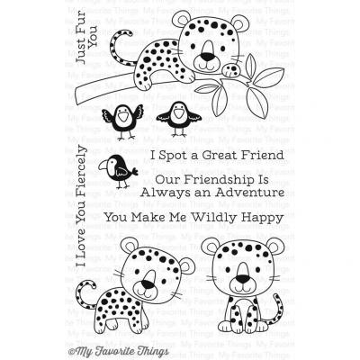 My Favorite Things Clear Stamp Loveable Leopards