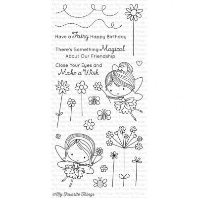My Favorite Things Clear Stamp Fairy Happy