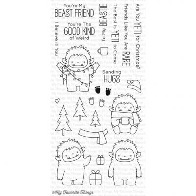 My Favorite Things Clear Stamp Beast Friends