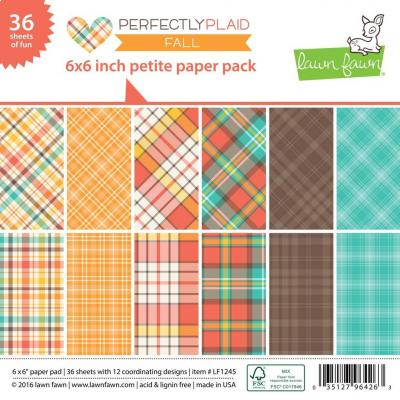Lawn Fawn Paper Pad Perfectly Plaid Fall