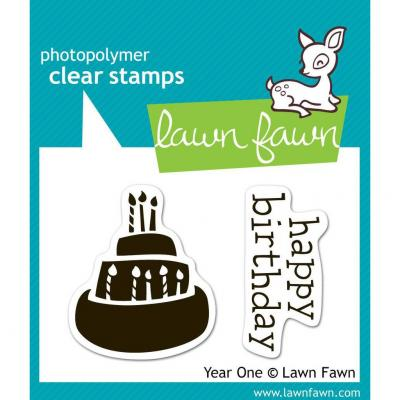Lawn Fawn Stempelset Year One
