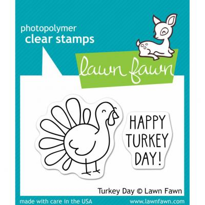 Lawn Fawn Stempelset Turkey Day