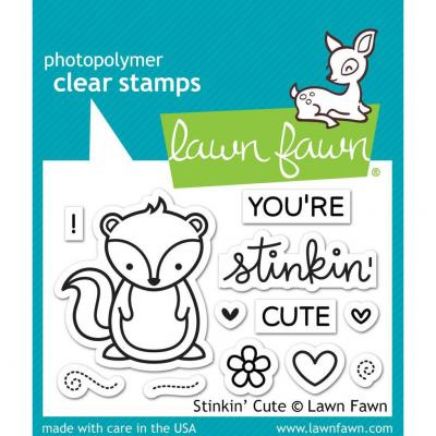 Lawn Fawn Stempelset Stinkin' Cute