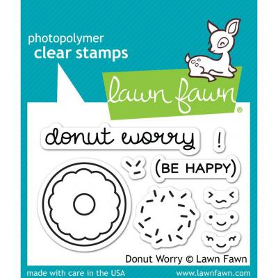 Lawn Fawn Stempelset Donut Worry