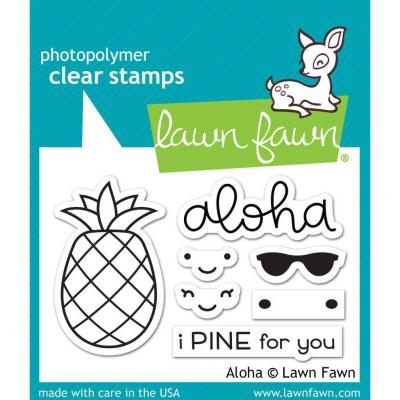 Lawn Fawn Clear Stamps - Aloha