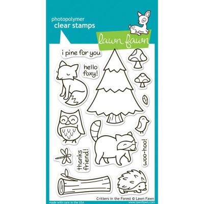 Lawn Fawn Clear Stamps Critters in the Forest
