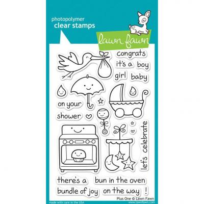 Lawn Fawn Clear Stamps Plus One
