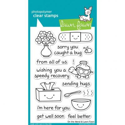 Lawn Fawn Clear Stamps On The Mend