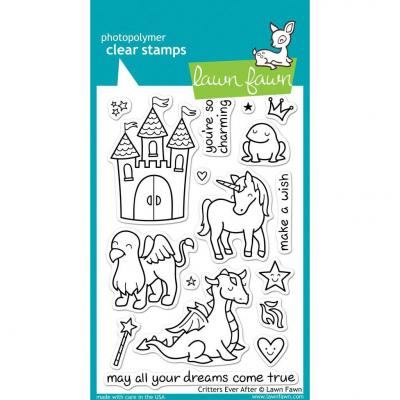 Lawn Fawn Clear Stamps Critters Ever After