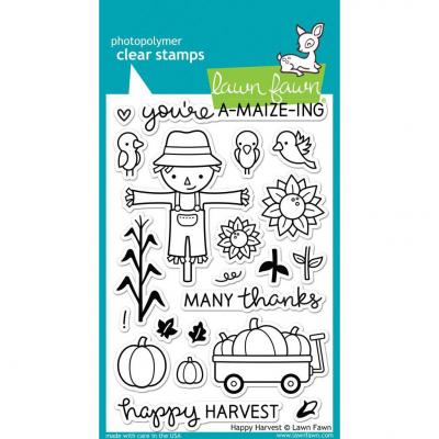 Lawn Fawn Clear Stamps - Happy Harvest