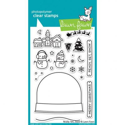Lawn Fawn Clear Stamps - Ready, Set, Snow