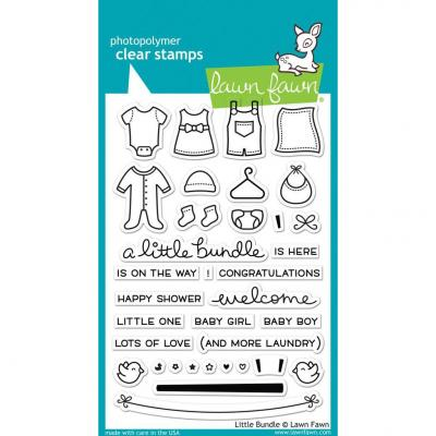 Lawn Fawn Clear Stamps - Little Bundle