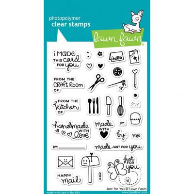 Lawn Fawn Clear Stamps - Just For You