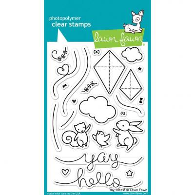 Lawn Fawn Clear Stamps - Yay, Kites!