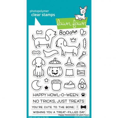 Lawn Fawn Clear Stamps - Happy Howloween