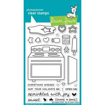 Lawn Fawn Clear Stamps - Sprinkled With Joy
