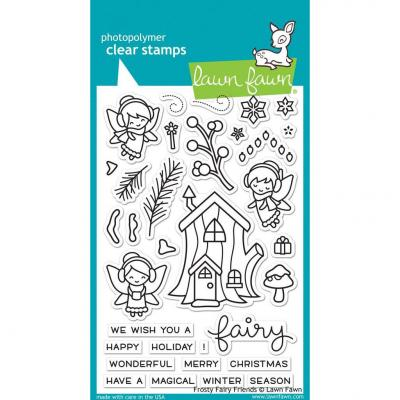 Lawn Fawn Clear Stamps Frosty Fairy Friends