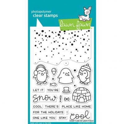 Lawn Fawn Clear Stamps - Snow Cool