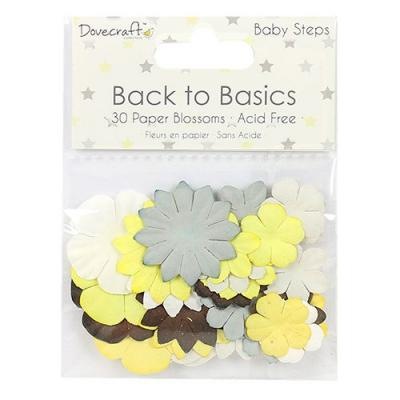 Back to Basics - Baby Steps - 30 Papierblumen