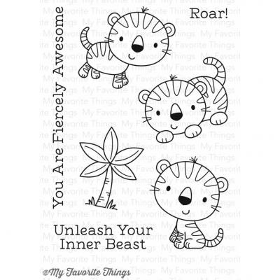 My Favorite Things Clear Stamp Fierce Friends
