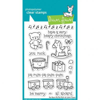 Lawn Fawn Clear Stamps Pa-Rum-Pa-Pum-Pum