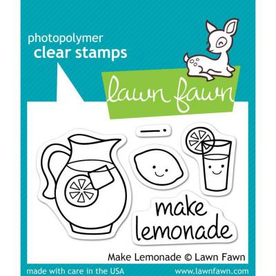 Lawn Fawn Clear Stamps Make Lemonade