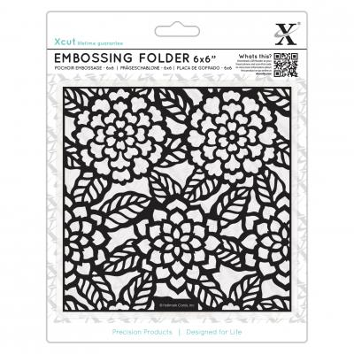 Embossing Folder Chrysanthemen