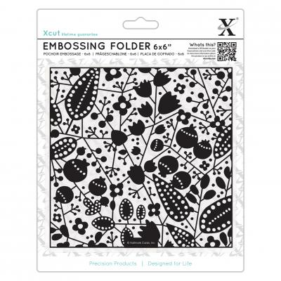 Embossing Folder Herbst & Beeren