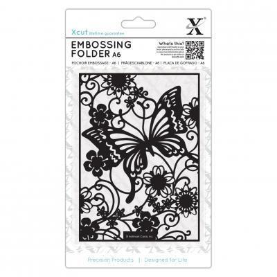 Embossing Folder Schmetterlingswiese