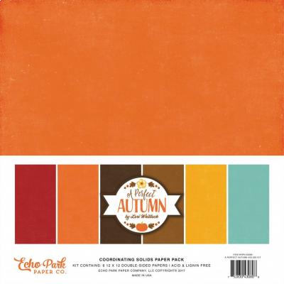 A Perfect Autumn - Cardstock