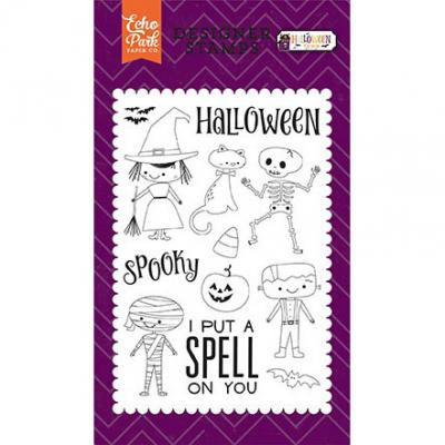 Halloween Customes Stamps