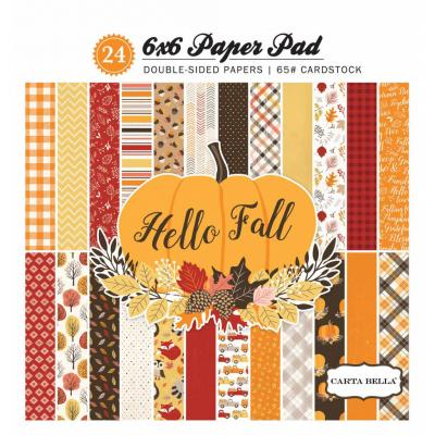 Hello Fall - Paper Pad