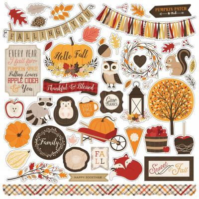 Hello Fall - Stickerbogen