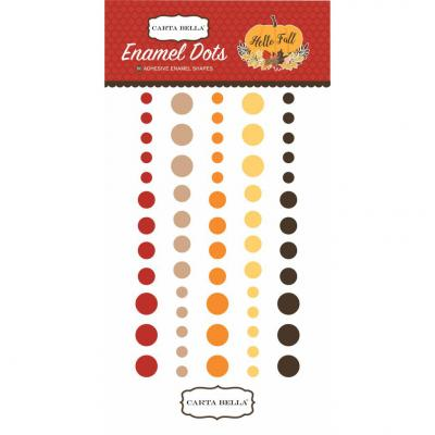 Hello Fall - Enamel Dots
