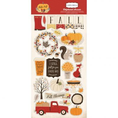 Hello Fall - Chipboard Embellishments