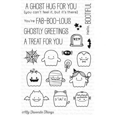 My Favorite Things Clear Stamp Fab-BOO-lous Friends